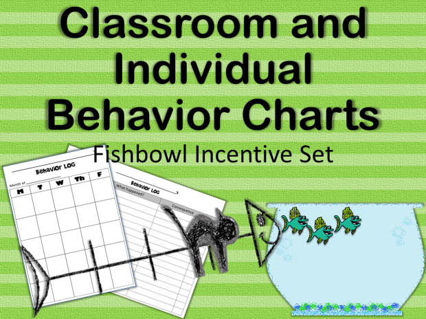 Classroom and Individual Behavior Charts cover