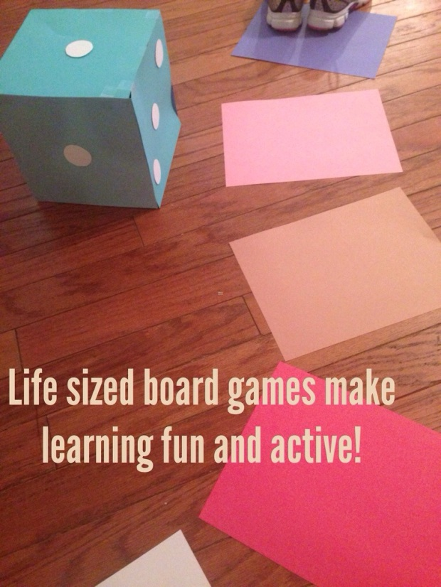 Life sized board games