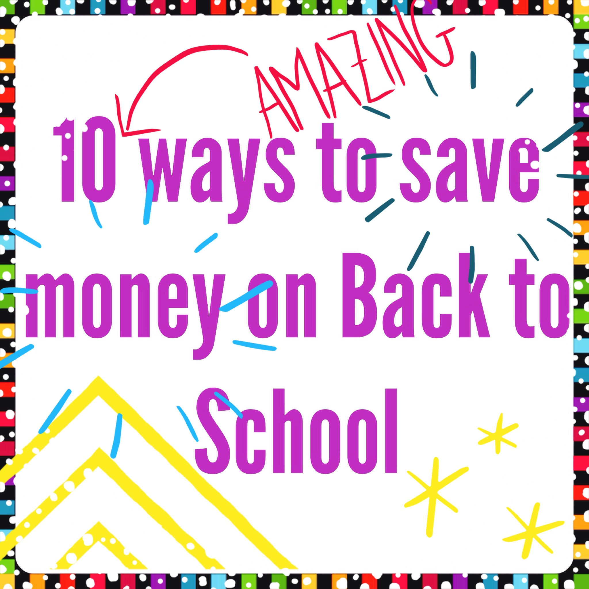 school find ways save money A simple way to save money on back to school clothes is to hit up the clearance racks it is still warm outside (and will be for a few more months) and, your kids will probably wear tees and shorts for a few weeks anyhow.