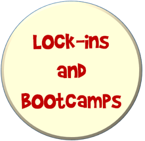 Lockins and bootcamps
