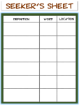 vocabulary game template