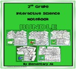 2nd grade interactive science notebook bundle