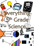 Everything 5th Grade Science