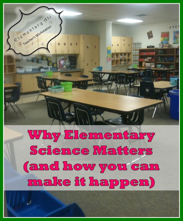 why elementary science matters