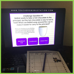 5th grade science escape challenge 1