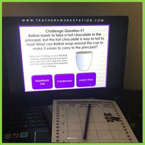 5th grade science escape challenge 1