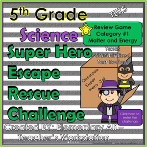 science escape challenge STAAR 1