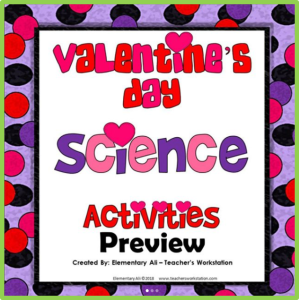 valentines day science activities