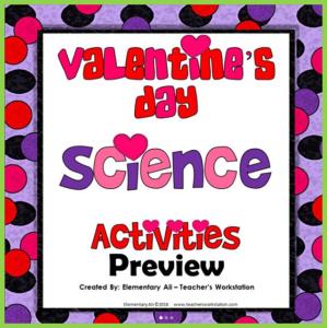 valentines day science activities