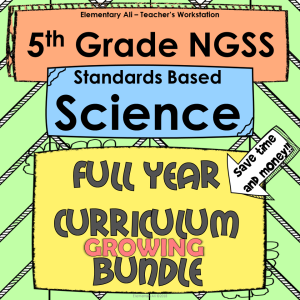 5th NGSS growing bundle